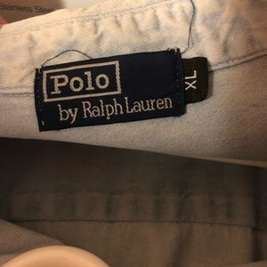 Polo jean ls shirt vintage 10/10 condition